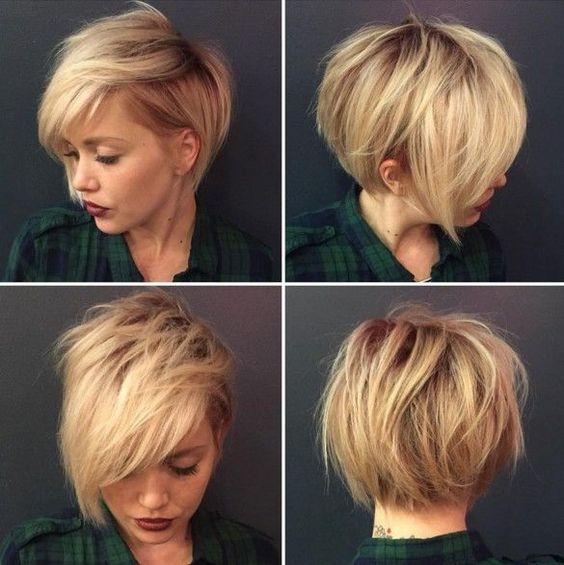 Стрижка боб для коротких тонких волос