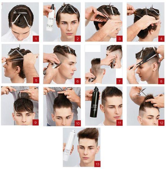Прически для парней с короткими волосами и как их сделать