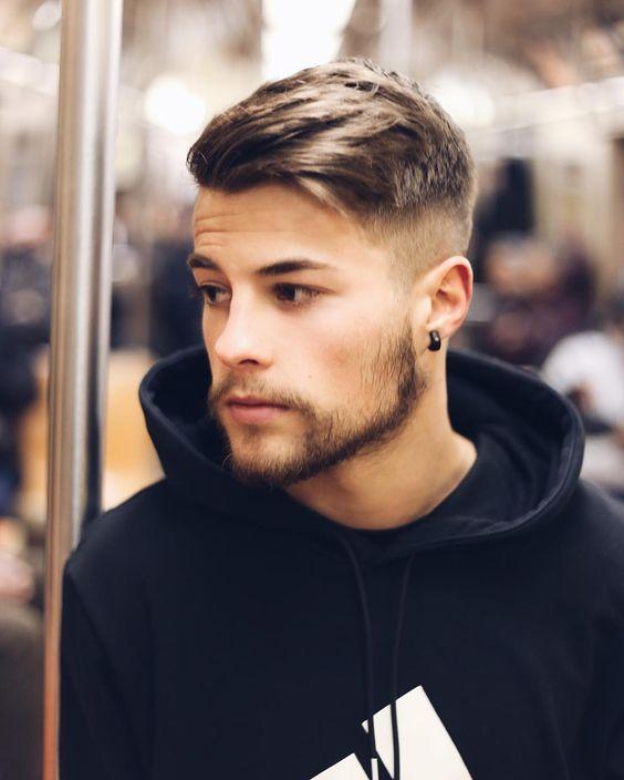 Красивые причёски для мужчин 2017