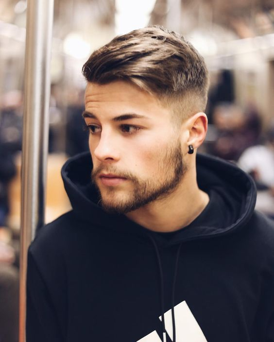 Прически для молодежи мужские