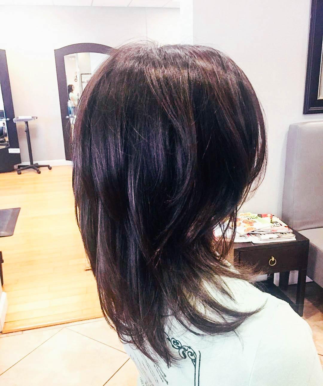 Кудрявые волосы: Короткие и длинные стрижки (50 фото)