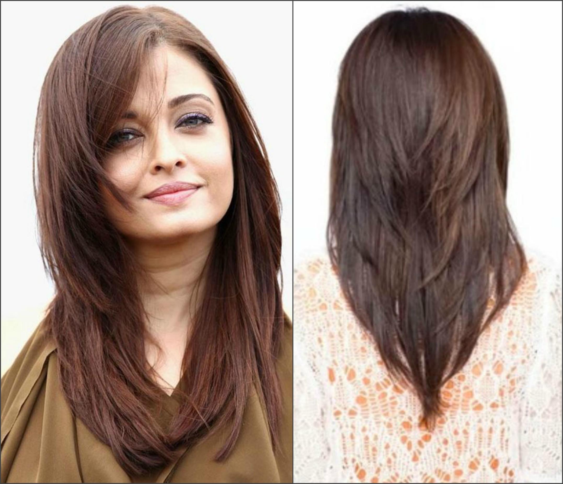 Стрижка длинных волос лисий хвост