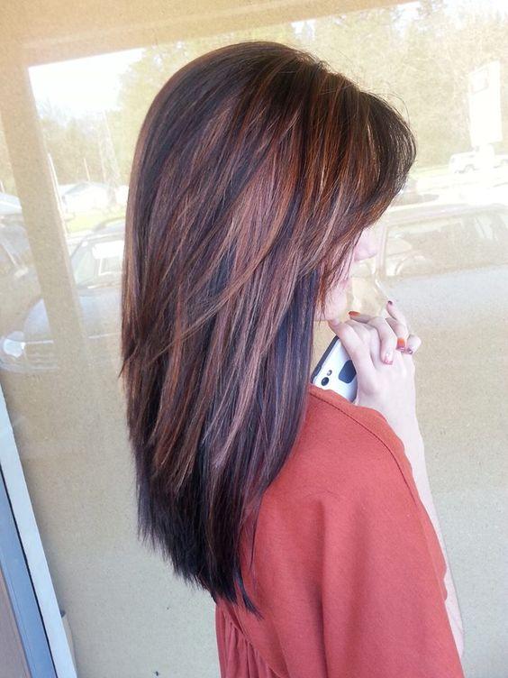 Окраска волос в стиле рапсодии