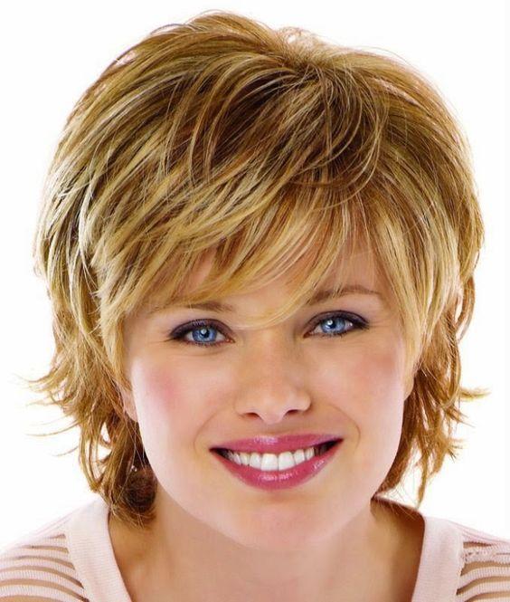 Причёски для полного лица