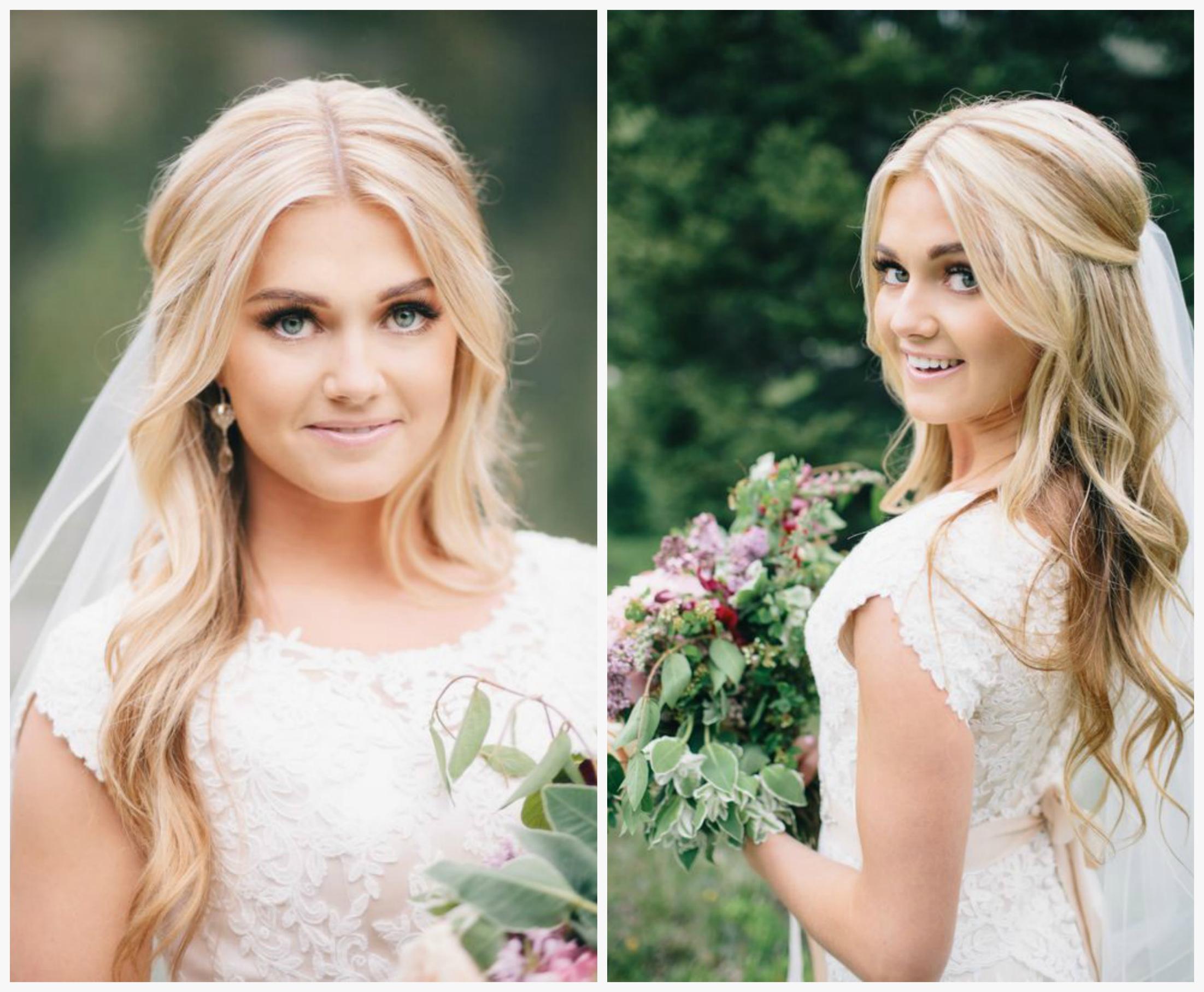 Прически для свадьбы на длинные волосы для девочек