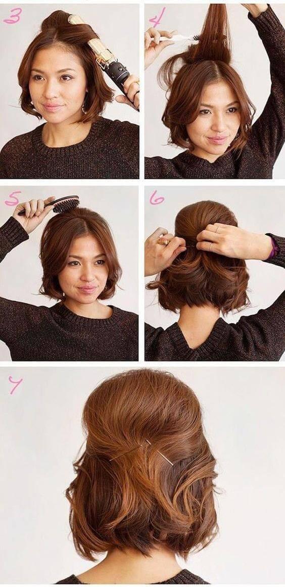 Укладка волос в домашних условиях на тонкие волосы 781
