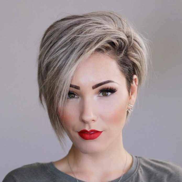 Женские стрижки для ромбовидного типа лица