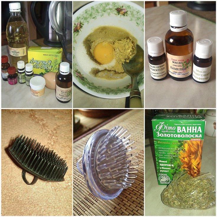 Маски с горчицей от выпадения волос