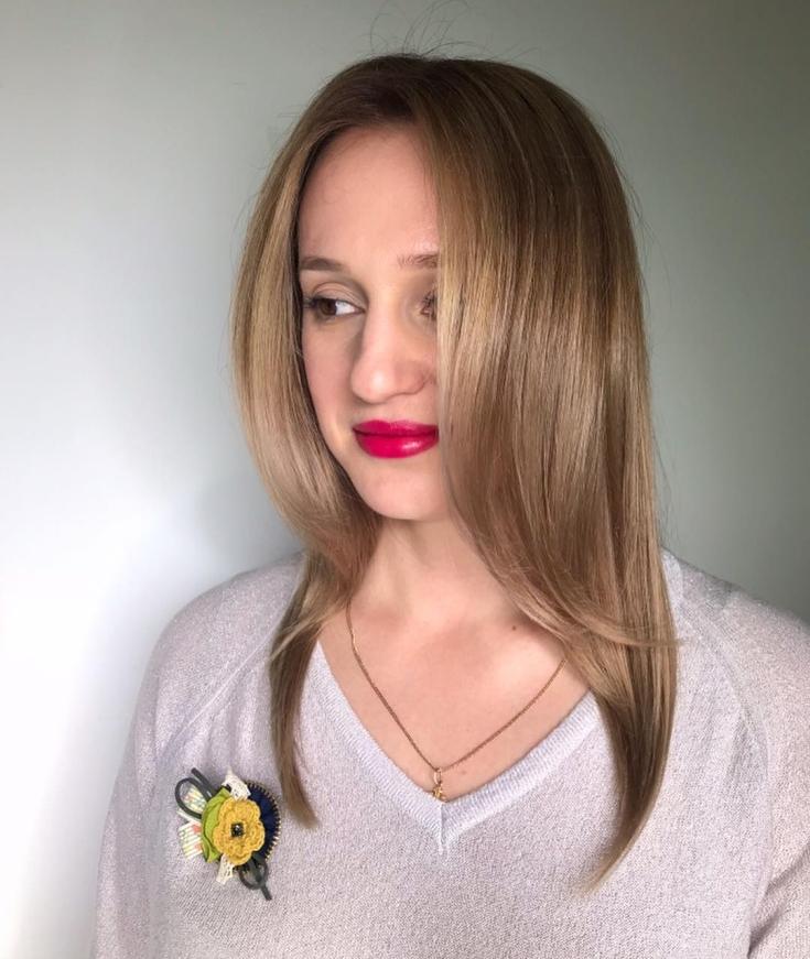 Русый цвет волос фото