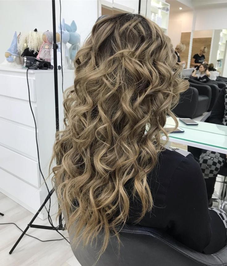Холодный русый цвет волос