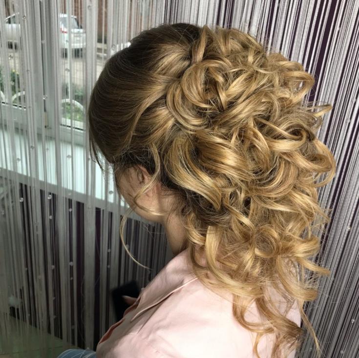Золотисто русый цвет волос фото