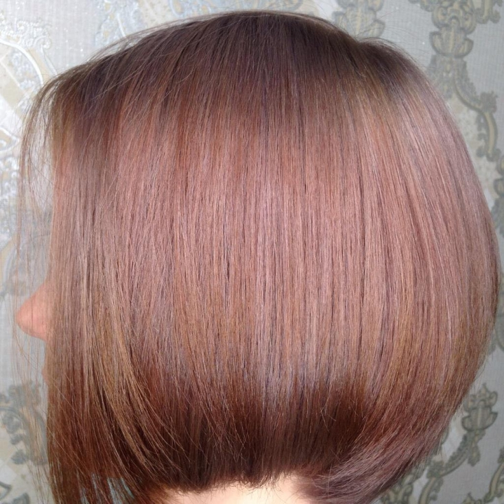 Шоколадно пепельный цвет волос фото