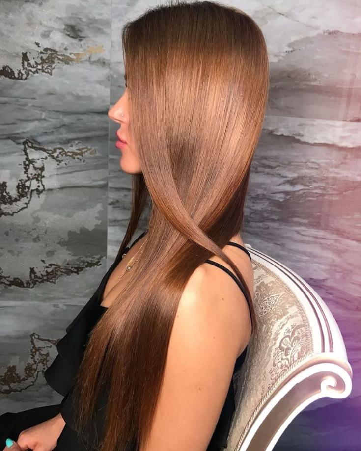 Медно русый цвет волос