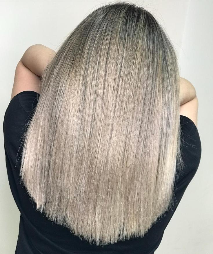 Пепельно русый цвет волос