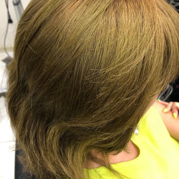 Русо зеленый цвет волос