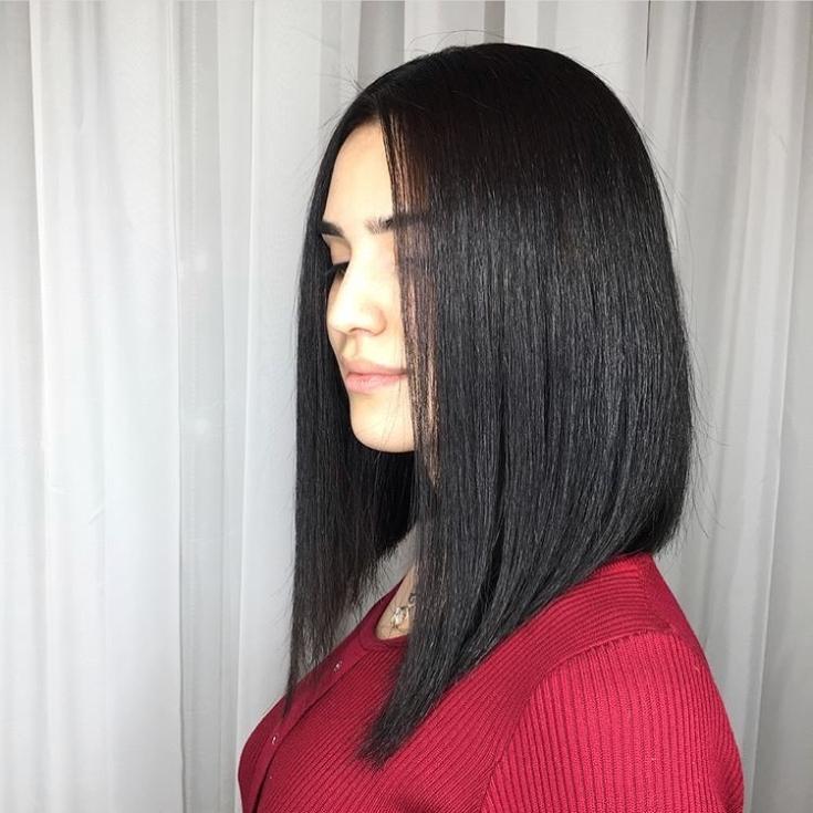 Черный цвет волос в домашних условиях