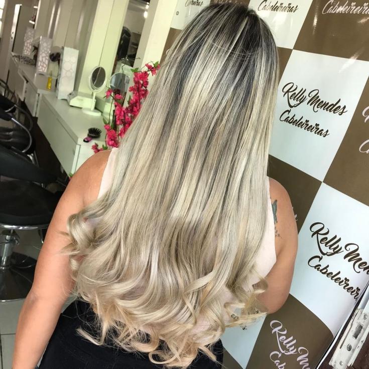 Светлый цвет волос для смуглой кожи