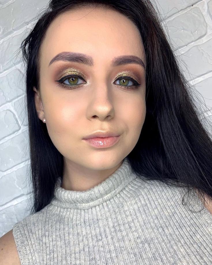 Цвет волос карие глаза смуглая кожа