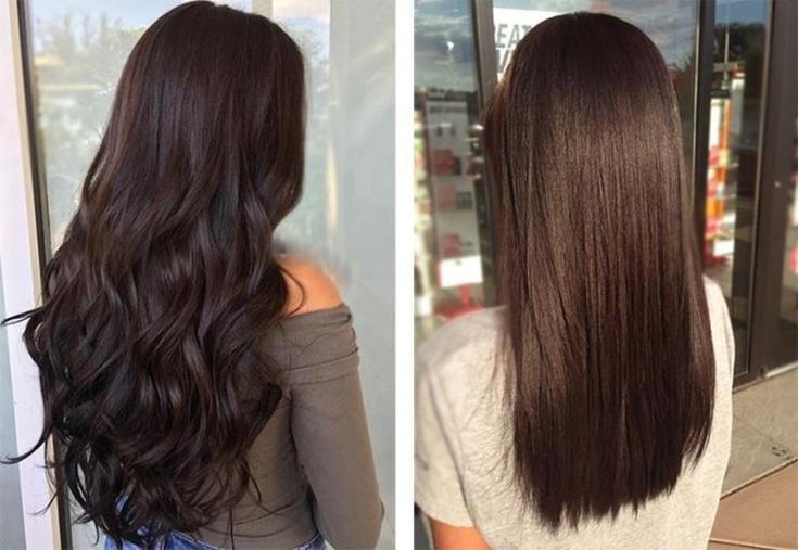 Цвет волос после черного цвета