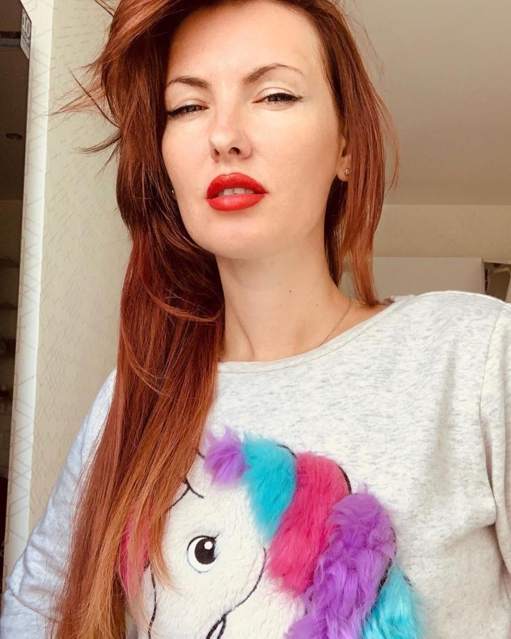 Оттенки рыжих цветов волос