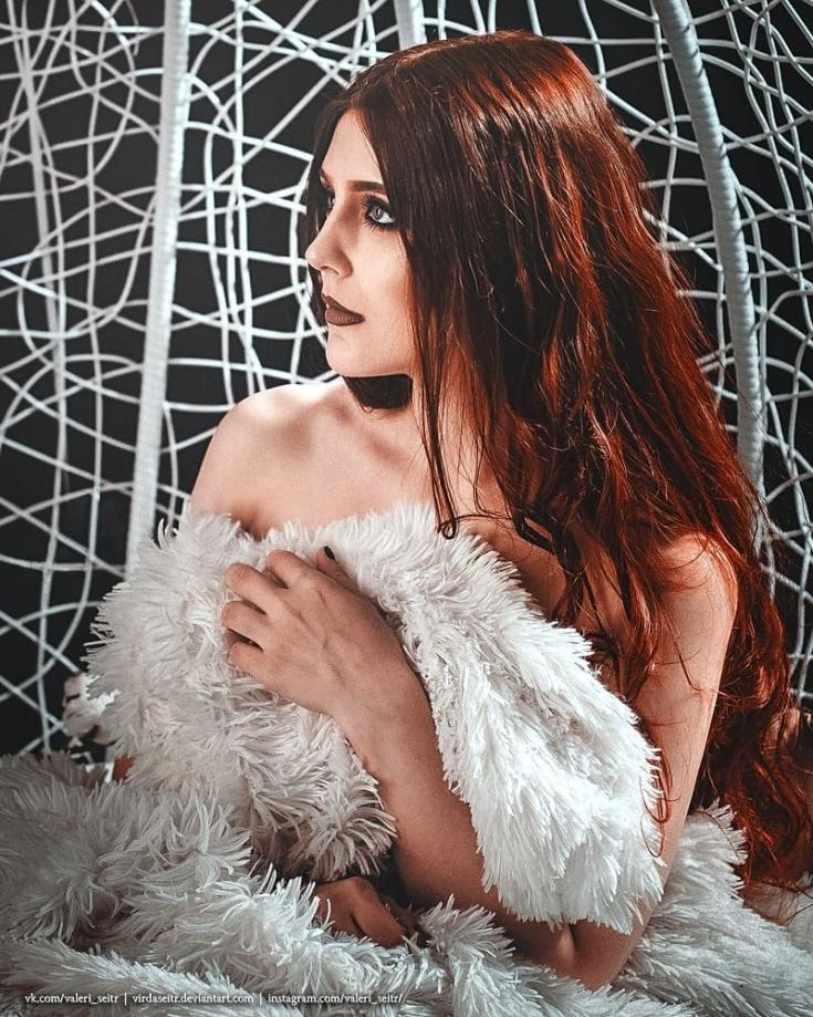 Коричнево-рыжий цвет волос