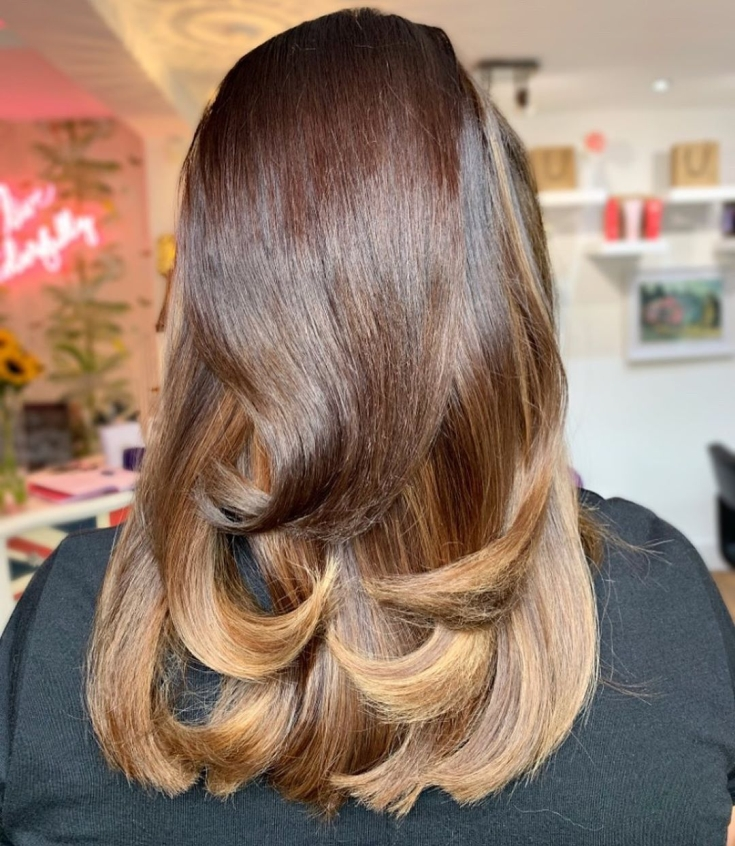 Светло-коричневый цвет волос