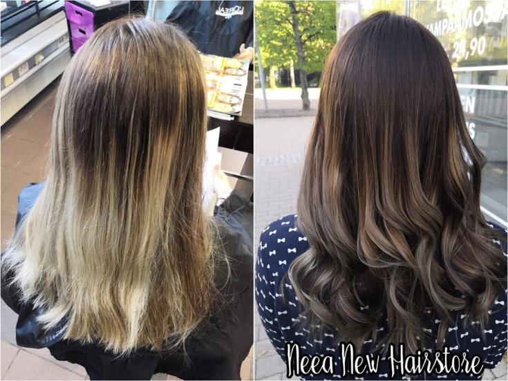 Пепельно-коричневый цвет волос