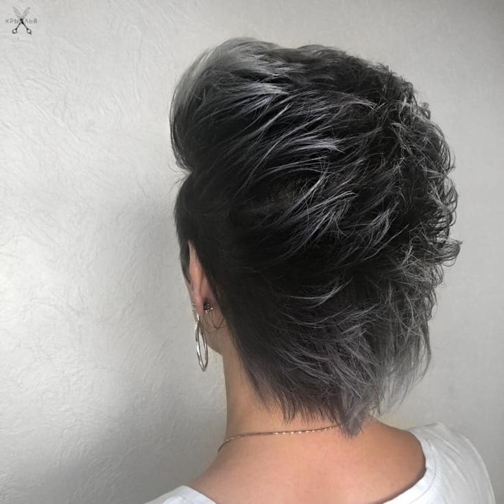 Стрижка на средние волосы осень 2019 модные тренды