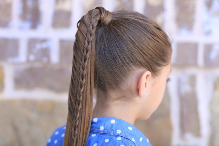 Легкие и простые прически для девочек на каждый день