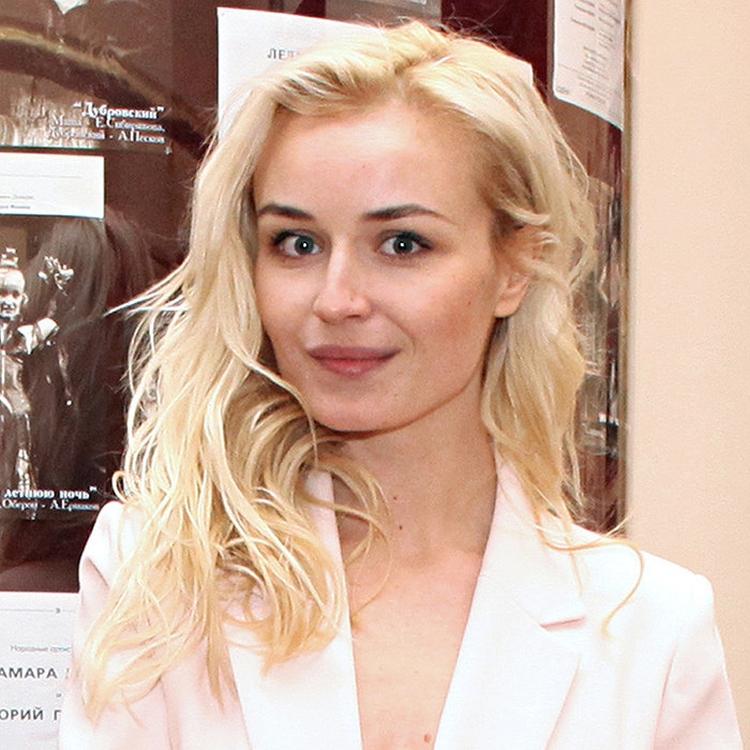 Прическа Полины Гагариной