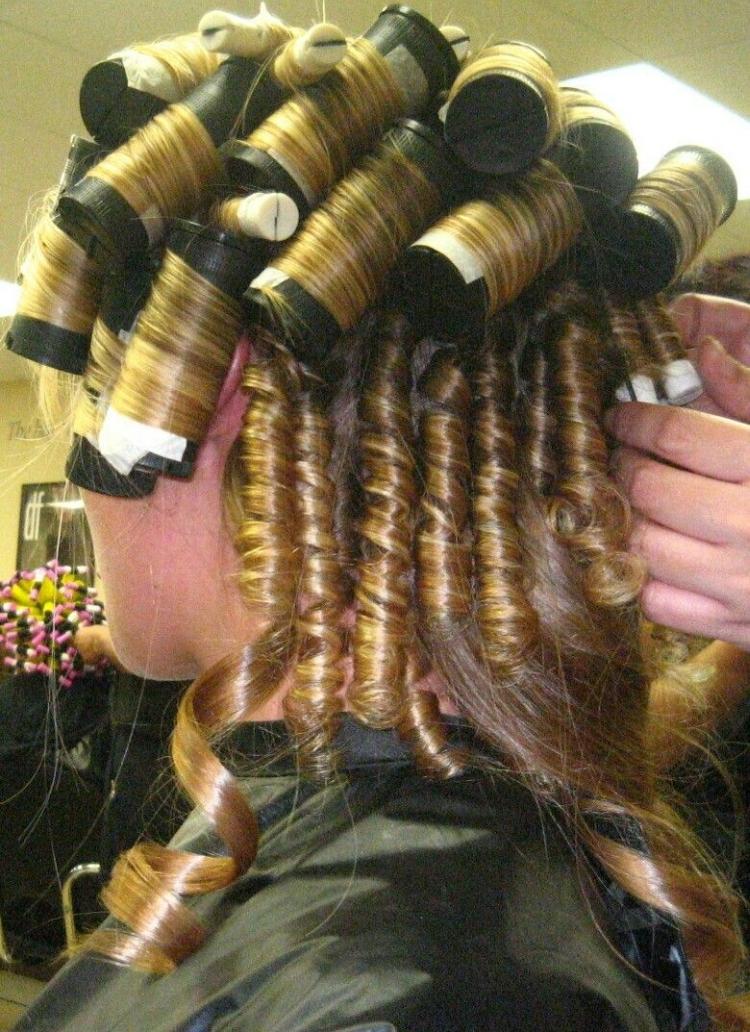 Коклюшки для химической завивки волос