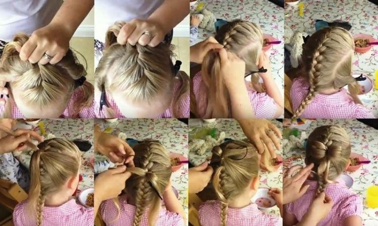 Французские косички для девочек с пошаговыми фото