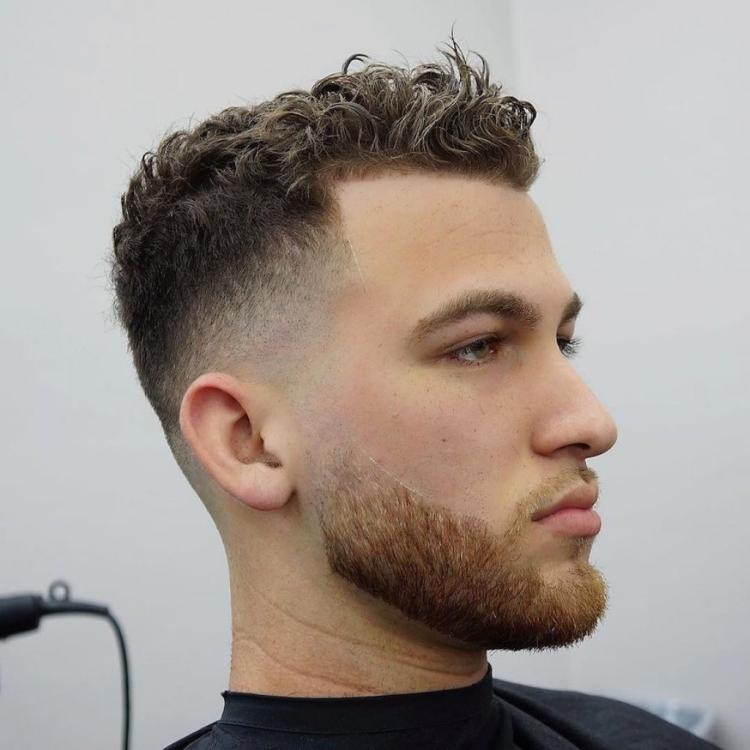 Мужские стрижки на вьющиеся волосы