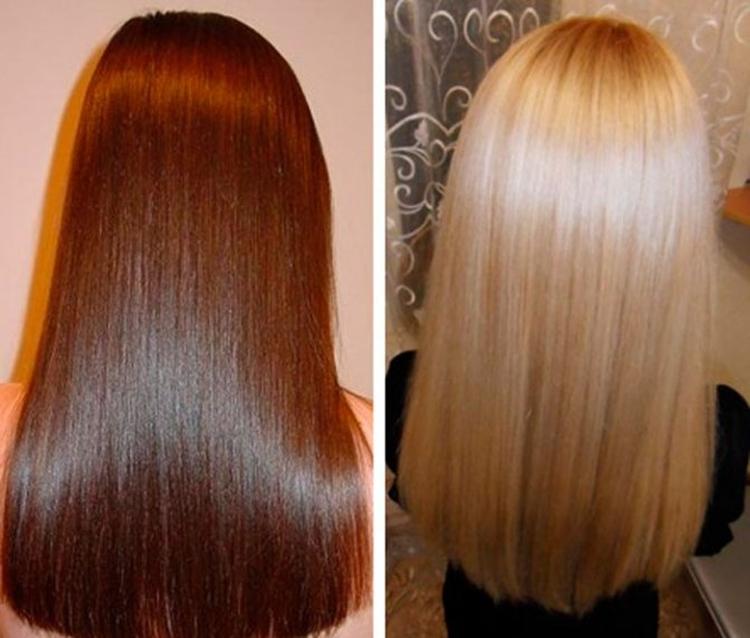 Домашнее ламинирование волос без желатина