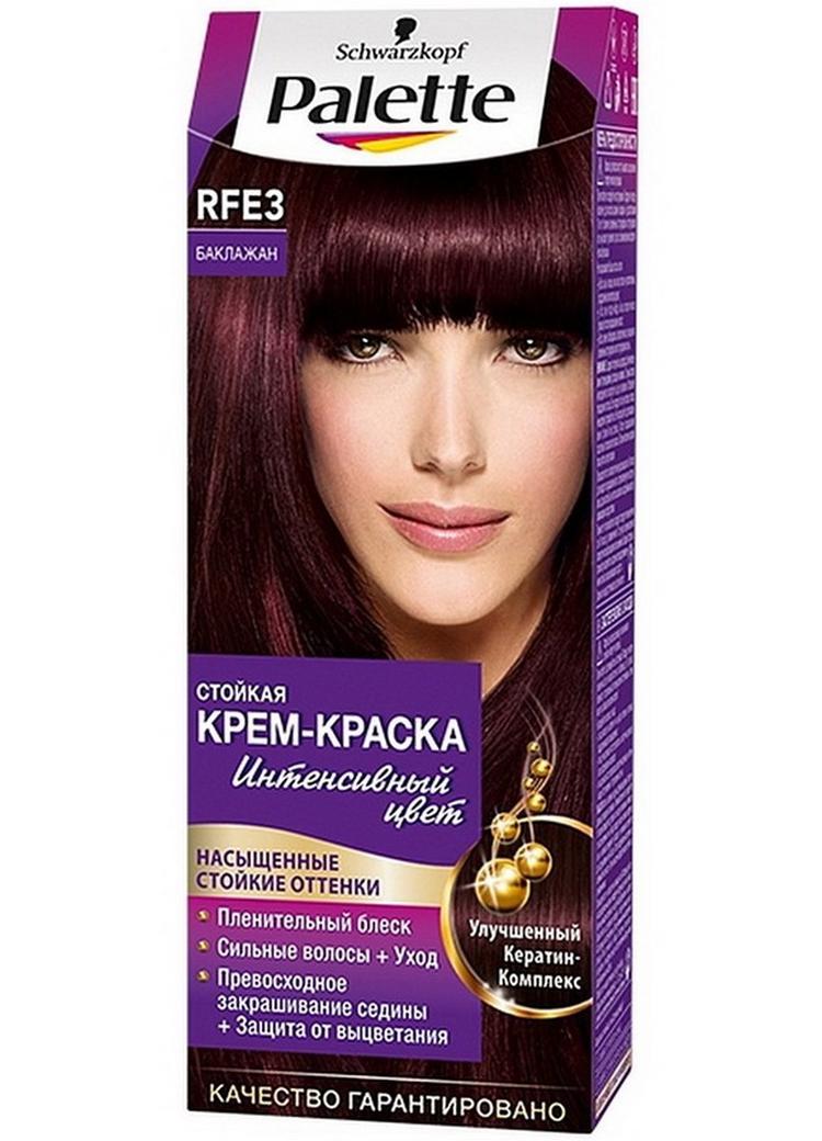 Бургунди цвет волос