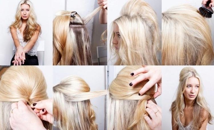 Прически легкие с распущенными волосами