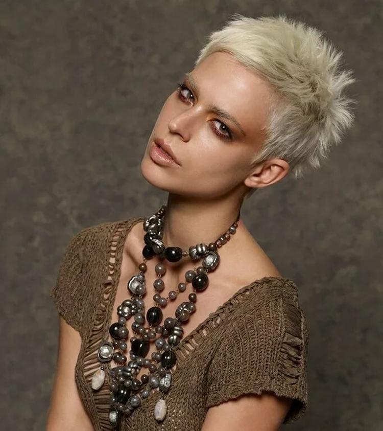 Женские ультракороткие стрижки