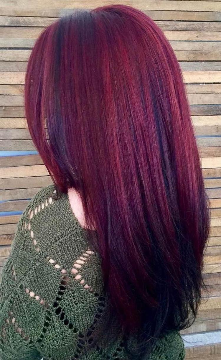 Красное дерево цвет волос фото