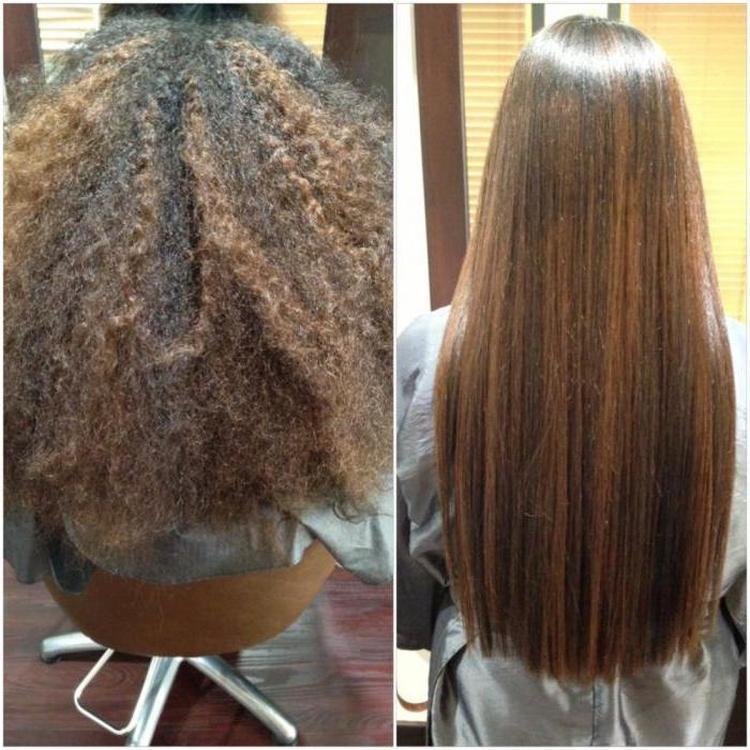 Как сделать в домашних условиях кератиновое выпрямление волос