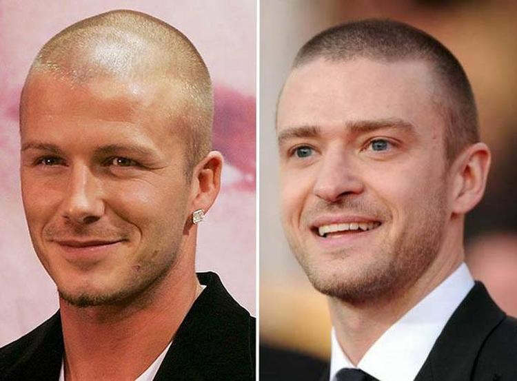Прически для мужчин с короткими волосами
