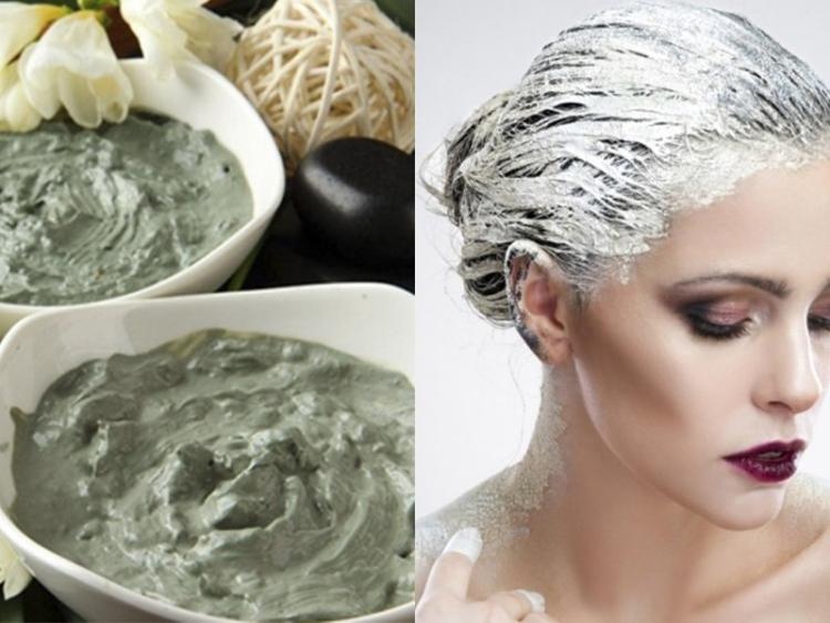 Глина белая для волос
