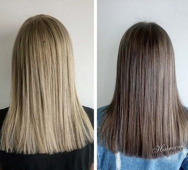 Как быстро вернуть свой цвет волос