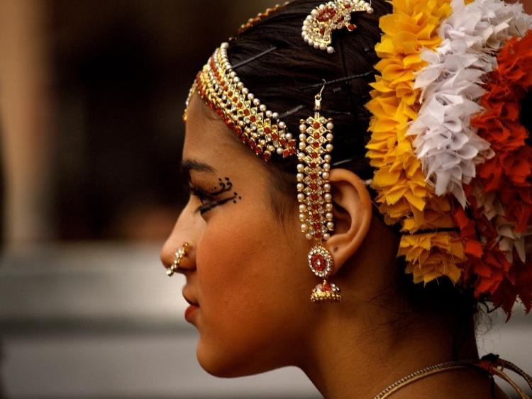 Индийские прически
