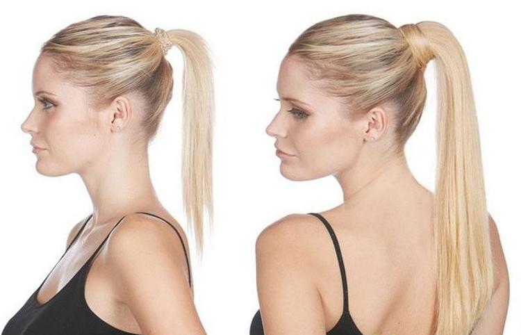 Высокие причёски на средние волосы