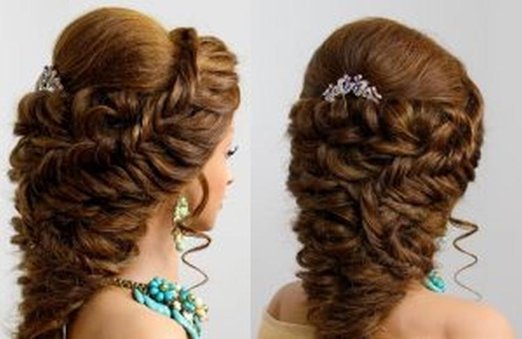 Прически с валиком для волос