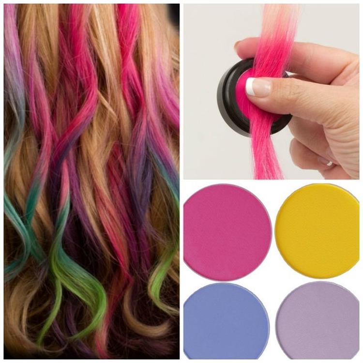 Как пользоваться мелками для волос