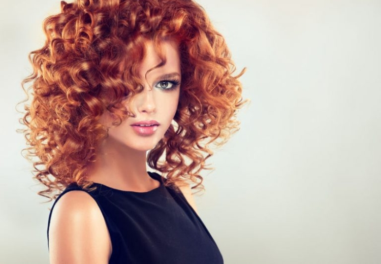 Легкая химия на средние волосы фото