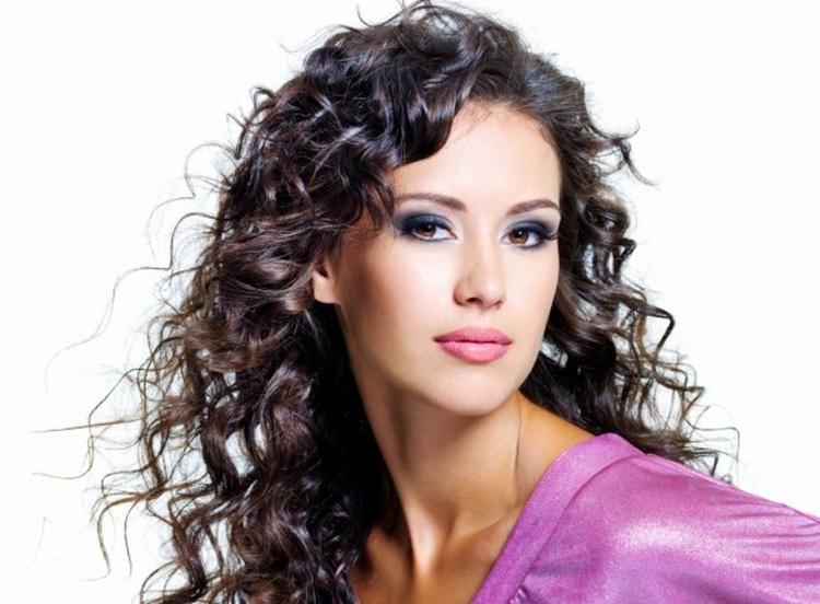 Причёски с накрученными волосами