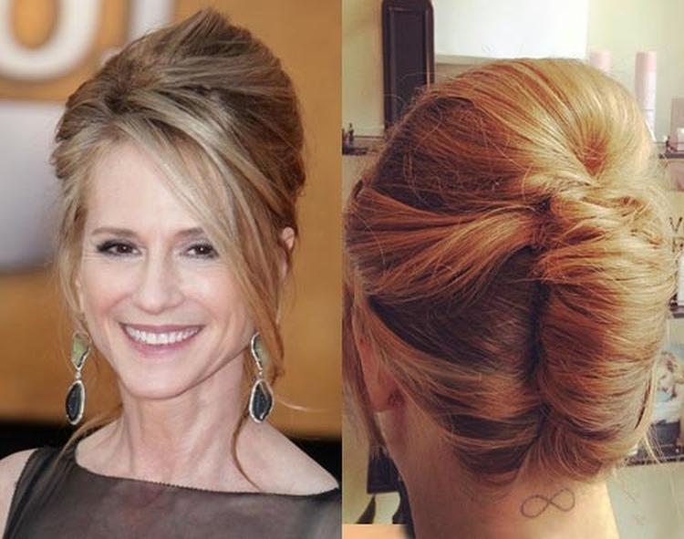 Прически для мамы невесты на средние волосы