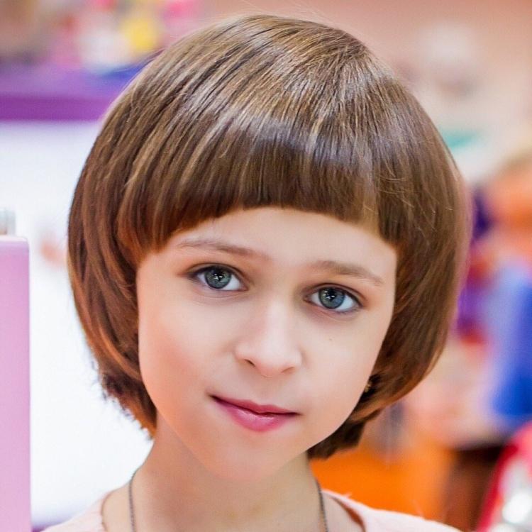 Короткие прически для девочек 12 лет